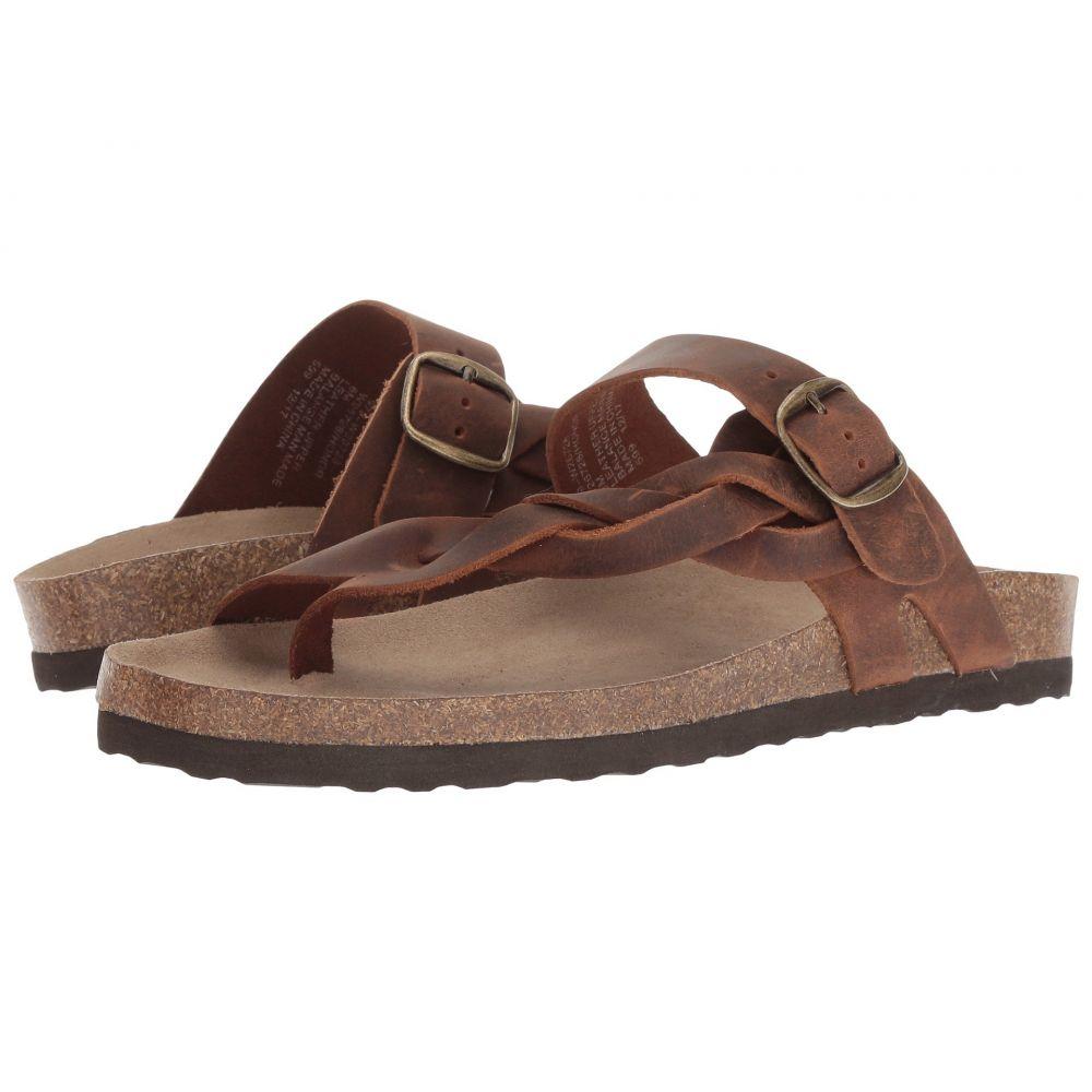 ホワイトマウンテン White Mountain レディース サンダル・ミュール シューズ・靴【Honor】Brown