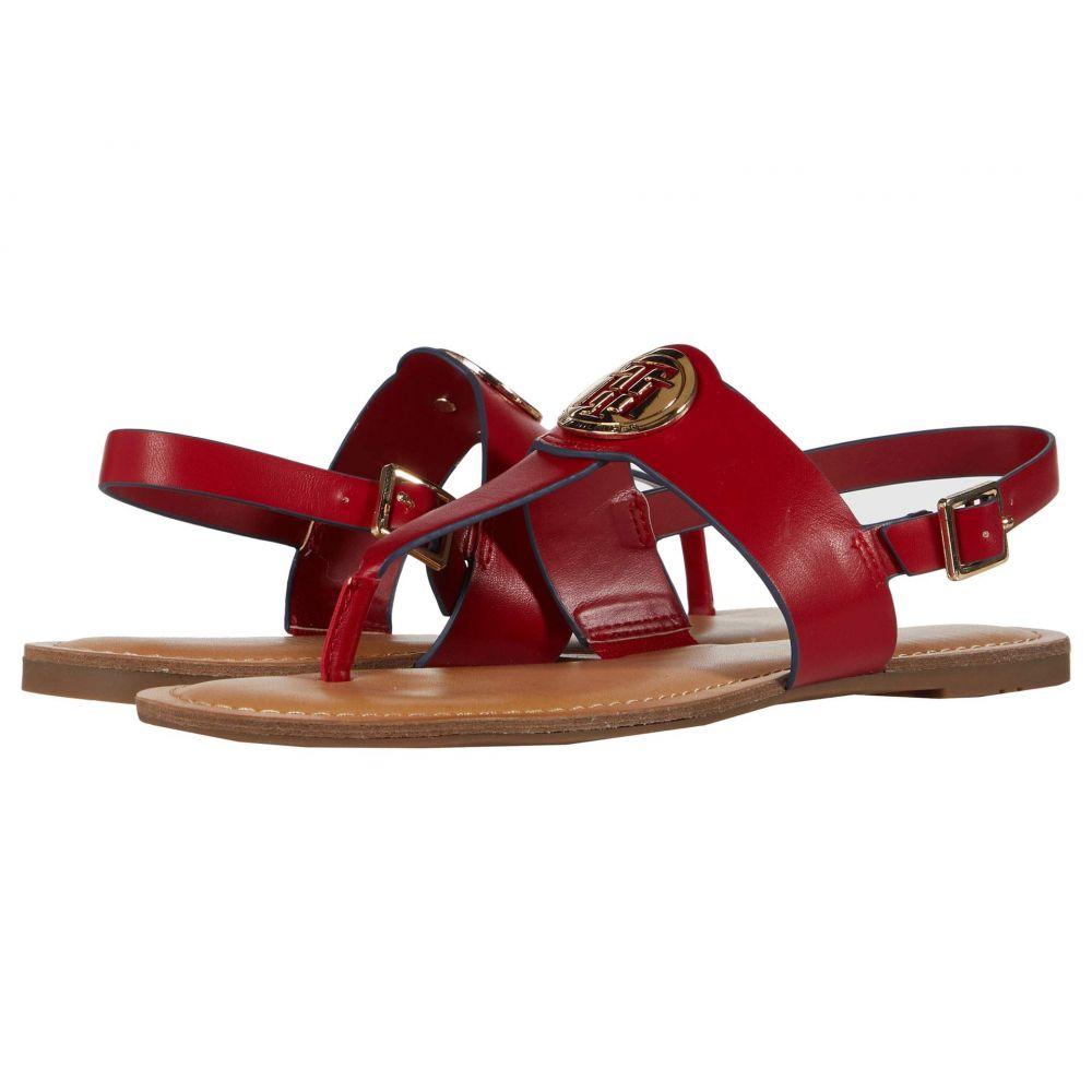 トミー ヒルフィガー Tommy Hilfiger レディース サンダル・ミュール シューズ・靴【Laile】Medium Red