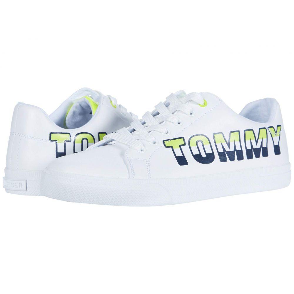 Tommy レディース Hilfiger シューズ・靴【Lonia】White トミー スニーカー ヒルフィガー
