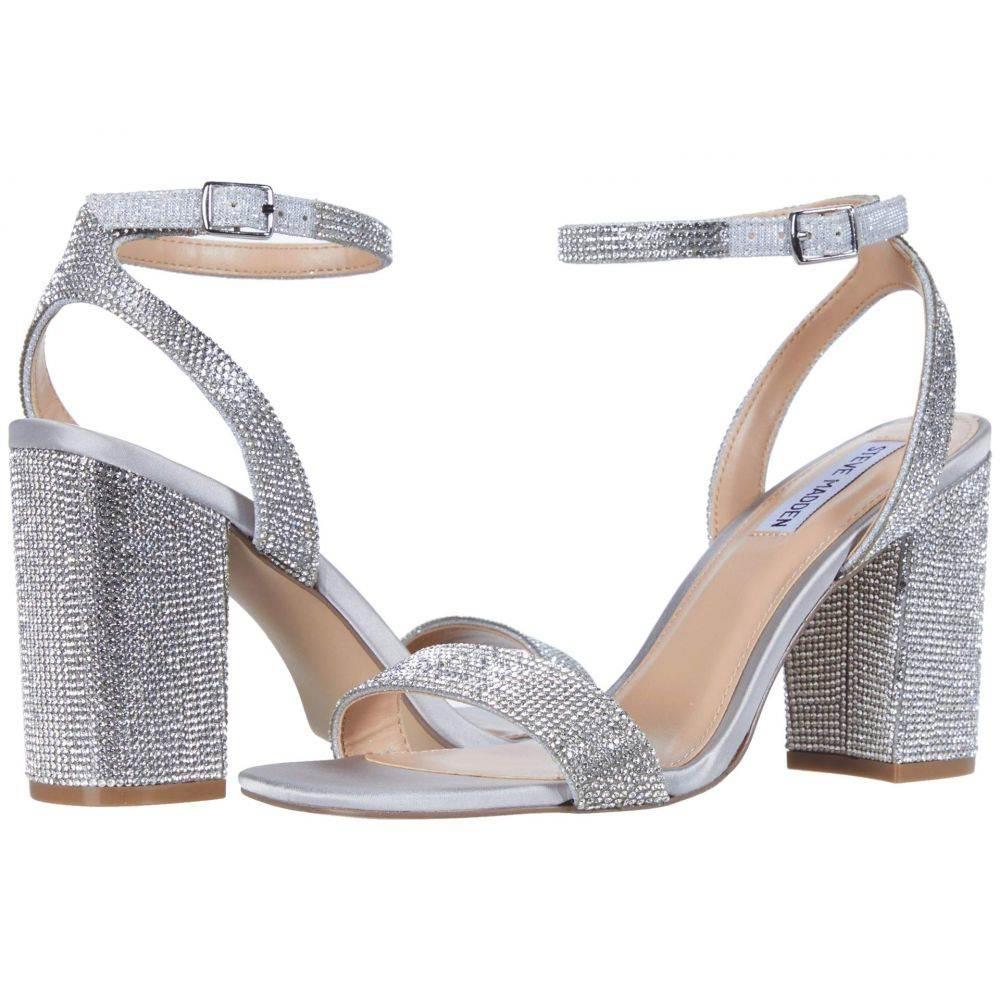 スティーブ マデン Steve Madden レディース サンダル・ミュール シューズ・靴【Glistening Heeled Sandal】Rhinestone