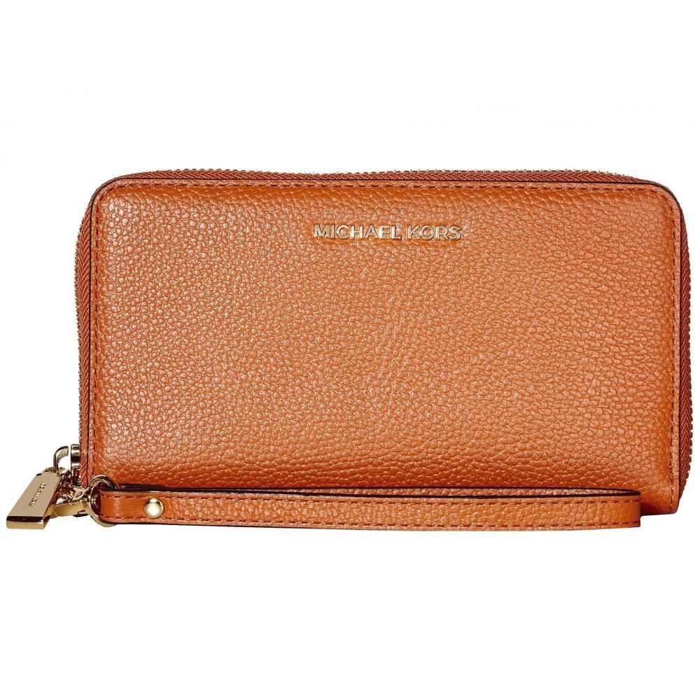 マイケル コース MICHAEL Michael Kors レディース スマホケース 【Large Flat Multifunction Phone Case】Burnt Orange