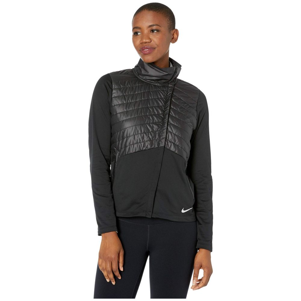 ナイキ Nike レディース ジャケット アウター【Essential Jacket Filled】Black/Reflective Silver