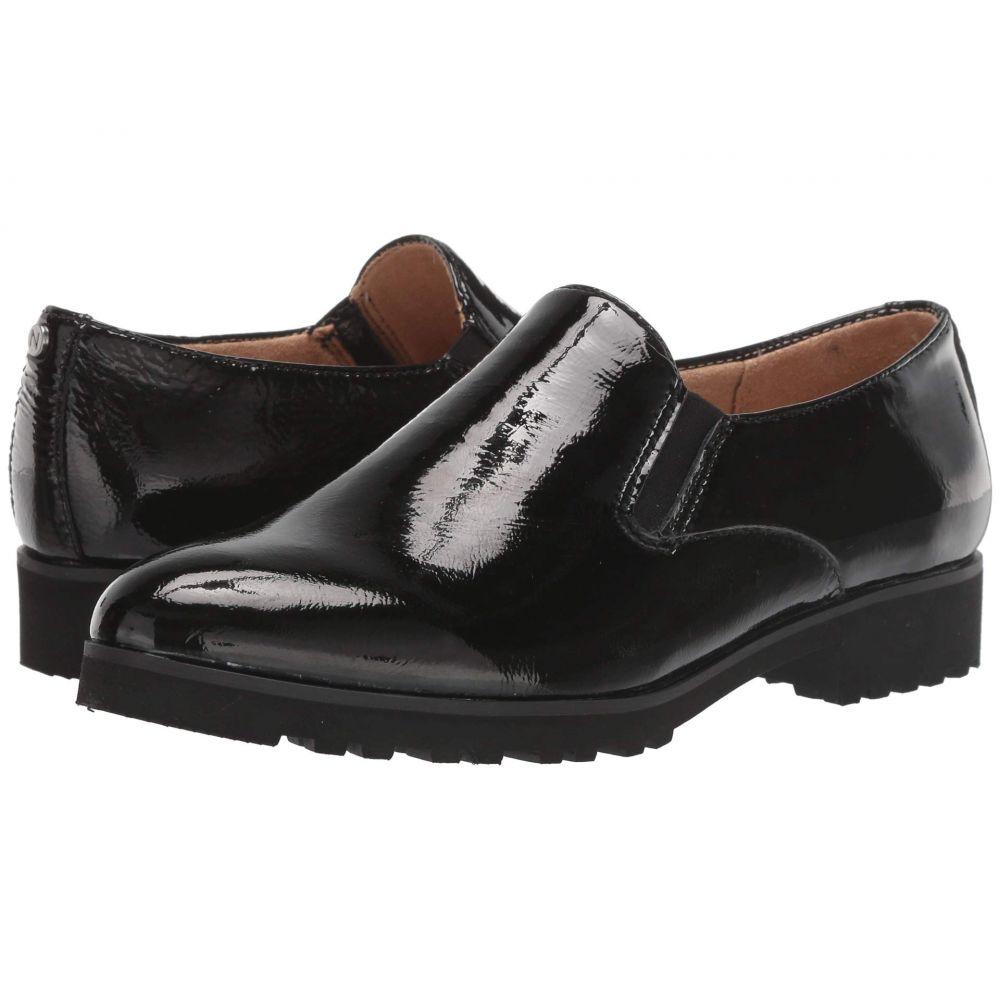 ナチュラライザー Naturalizer レディース ローファー・オックスフォード シューズ・靴【Geraldine】Black Patent Leather