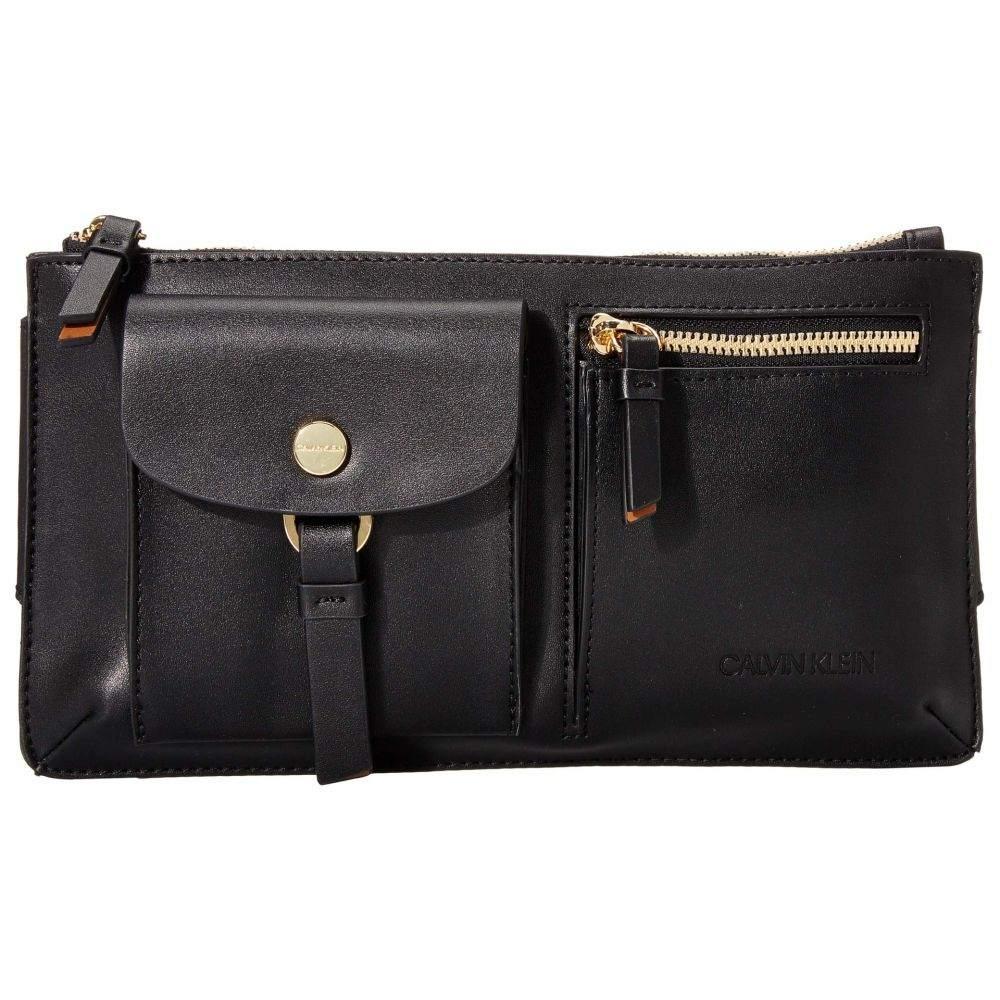 カルバンクライン Calvin Klein レディース ボディバッグ・ウエストポーチ バッグ【Rossa Smooth PU Belt Bag】Black Combo