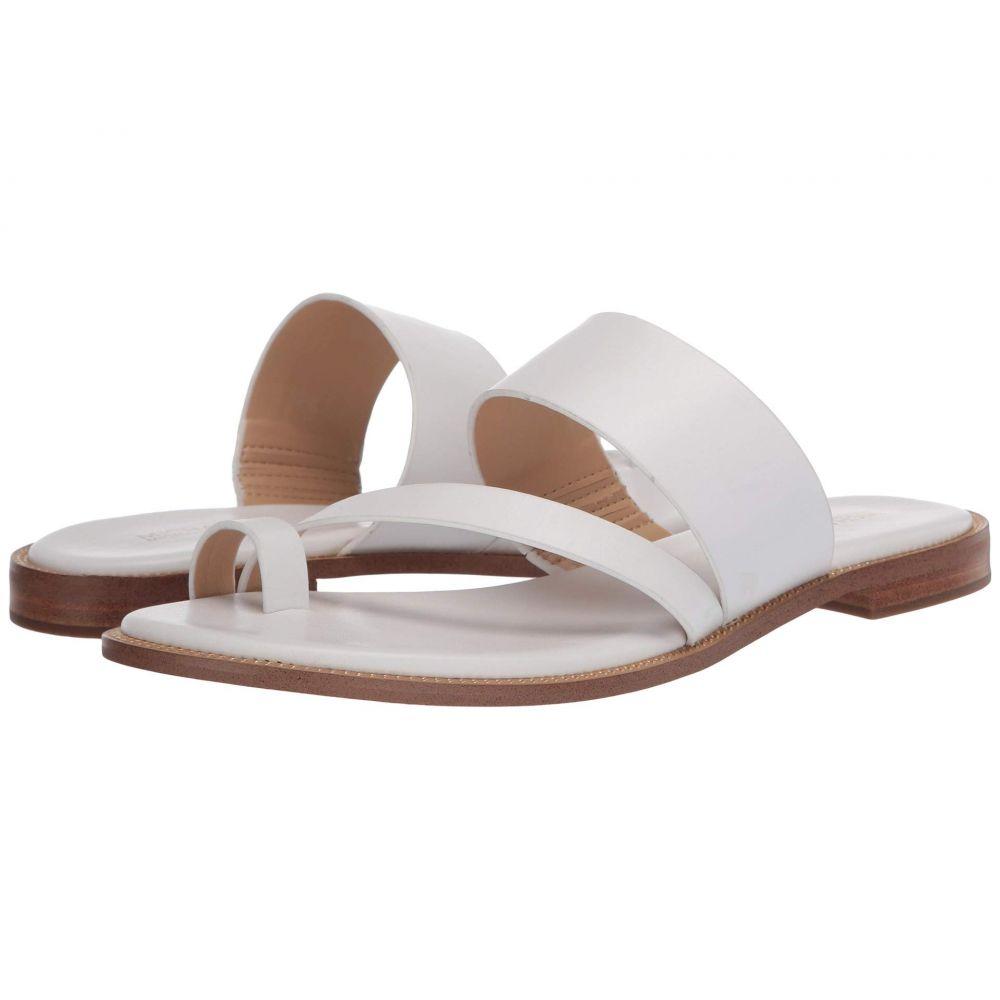 マイケル コース MICHAEL Michael Kors レディース サンダル・ミュール フラット シューズ・靴【Pratt Flat Sandal】Optic White