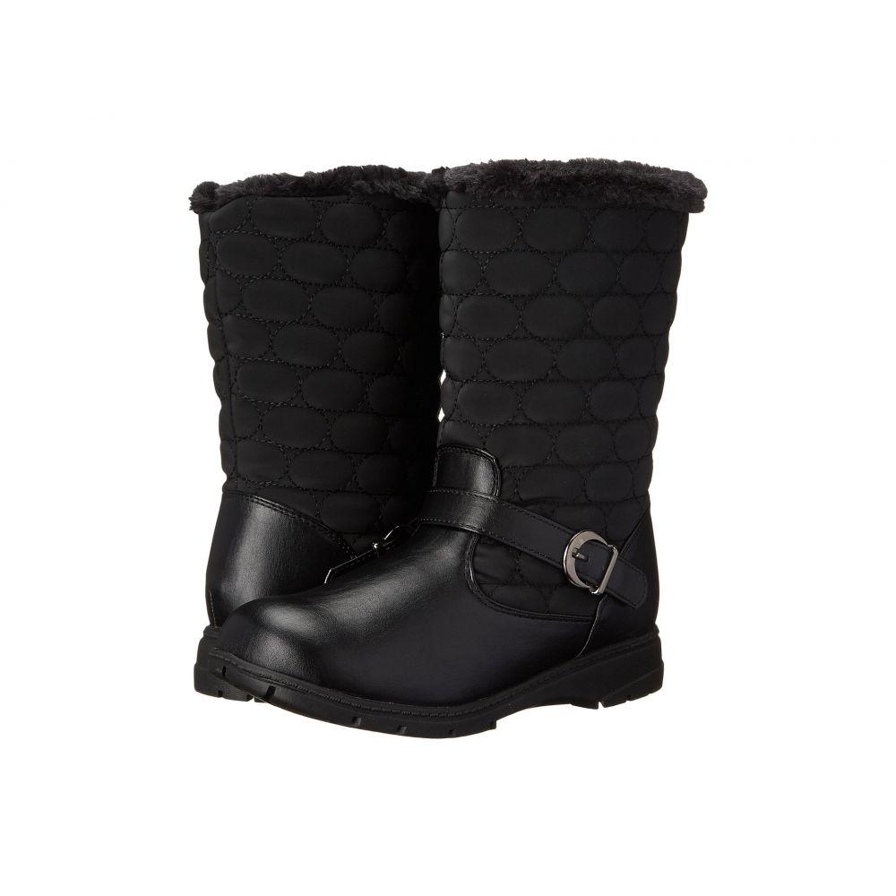 ソフトスタイル Soft Style レディース ブーツ シューズ・靴【Pixie】Black Vylon/Vitello