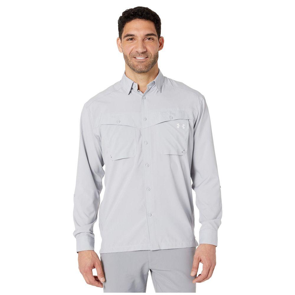 アンダーアーマー Under Armour メンズ シャツ トップス【UA Tide Chaser Long Sleeve Shirt】Mod Gray/Elemental