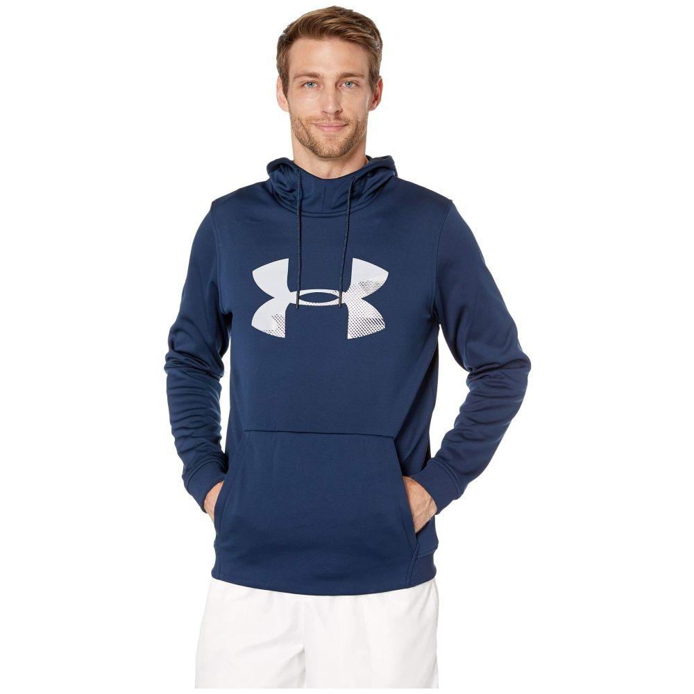 アンダーアーマー Under Armour メンズ フリース トップス【Armour Fleece Pullover Hoodie Big Logo Graphic】Academy/Mod Gray