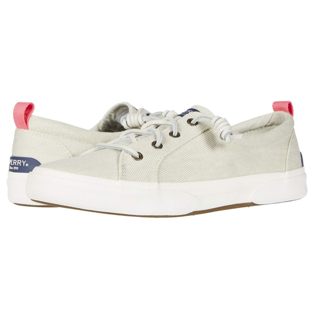 スペリー Sperry レディース スニーカー シューズ・靴【Pier Wave LTT White Washed Twill】Bone White