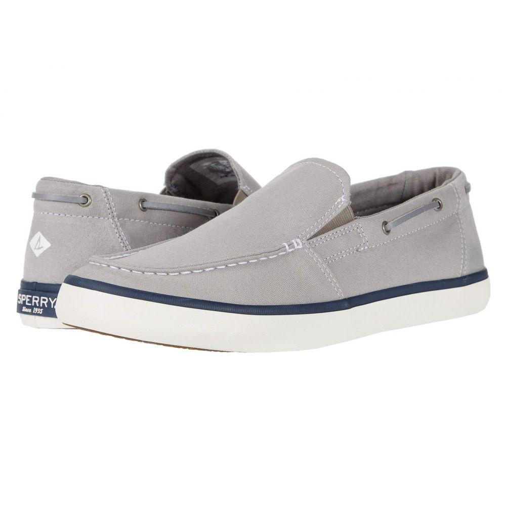 スペリー Sperry メンズ スリッポン・フラット シューズ・靴【Mainsail Slip-On】Grey