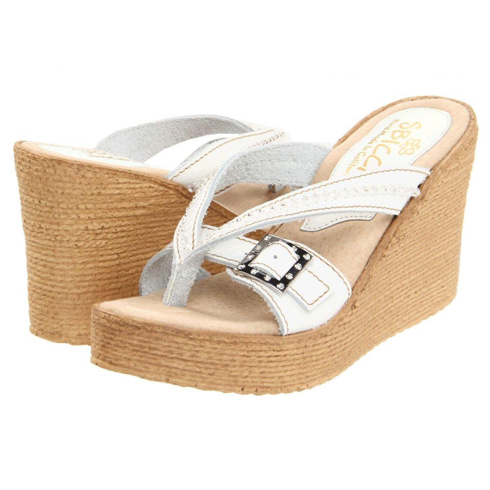スビカ Sbicca レディース サンダル・ミュール シューズ・靴【Horizon】White
