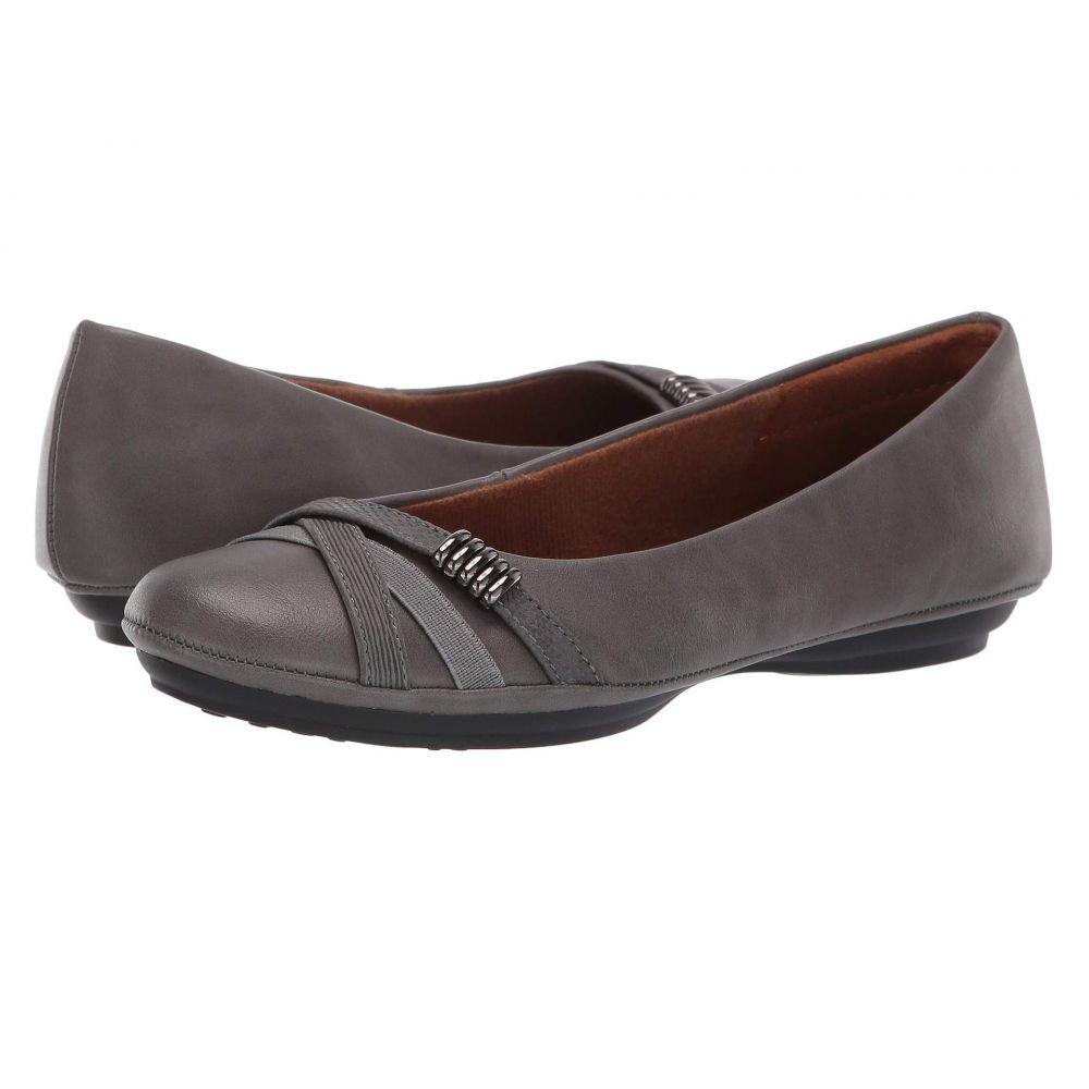 ユーロソフト EuroSoft レディース スリッポン・フラット シューズ・靴【Shaina】Grey