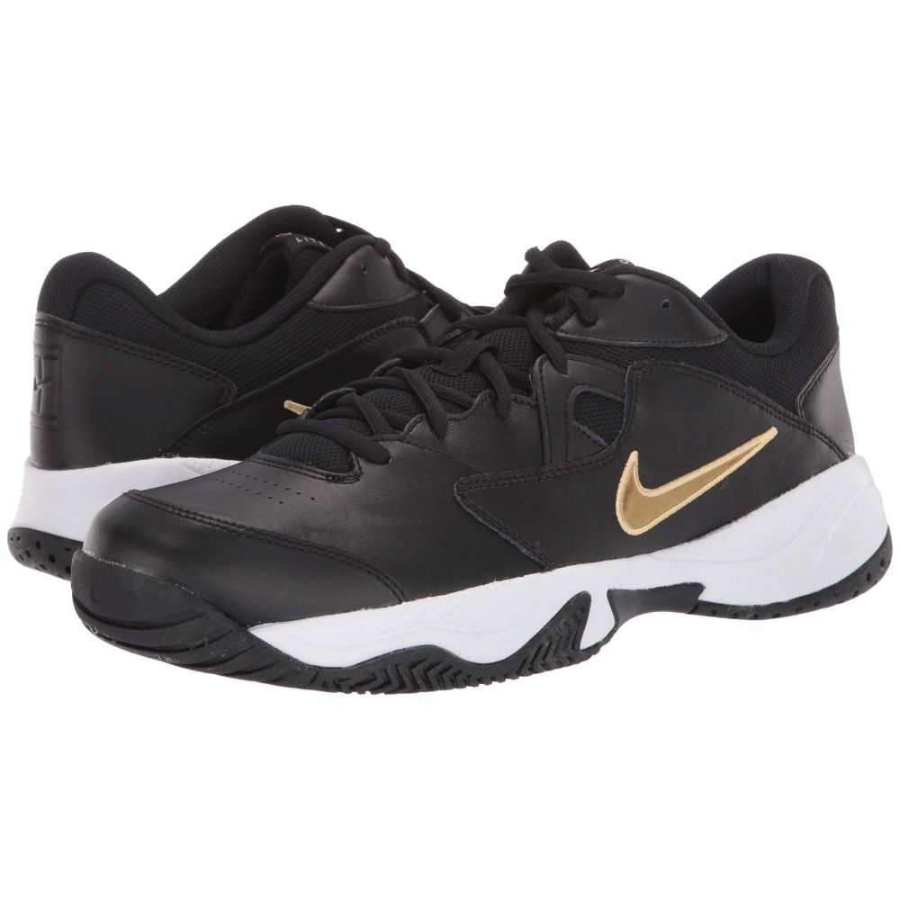 ナイキ Nike メンズ シューズ・靴 【Court Lite 2】Black/Metallic Gold/White