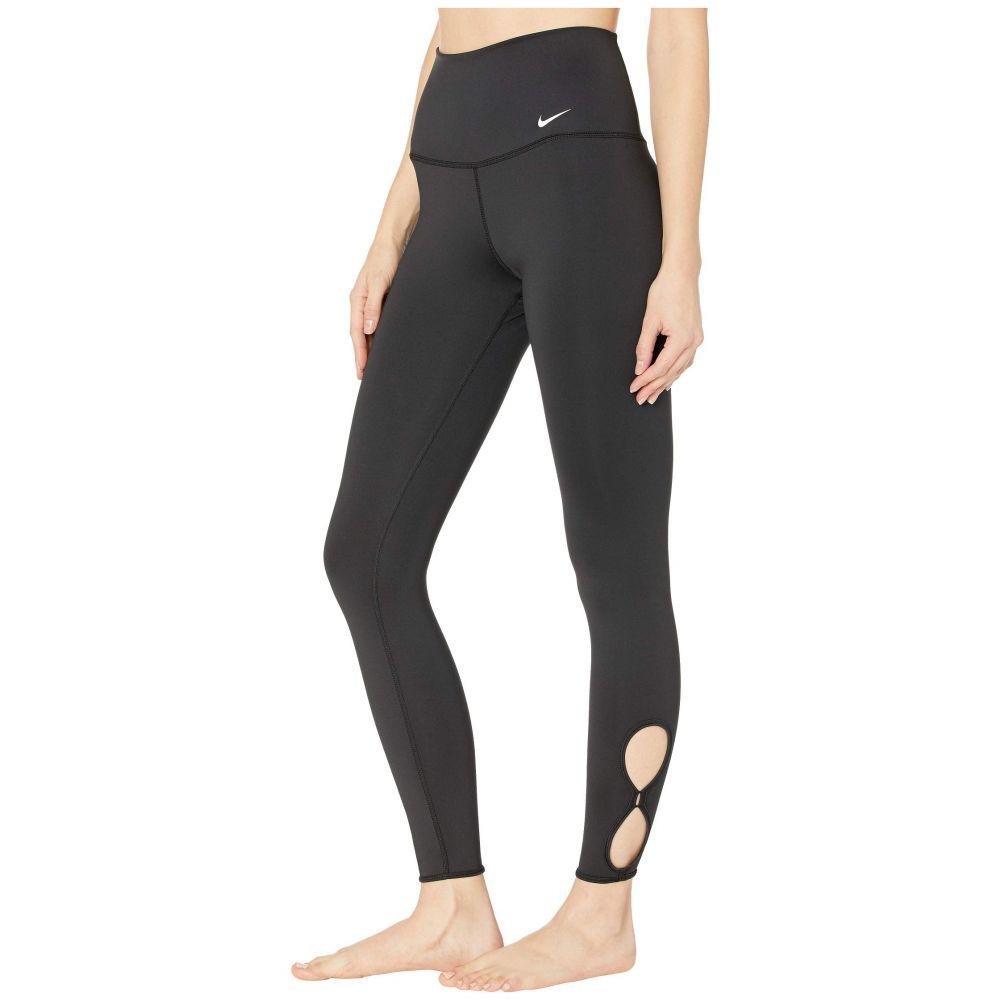 ナイキ Nike レディース ヨガ・ピラティス スパッツ・レギンス ボトムス・パンツ【Yoga 7/8 Tights Holiday】Black/White