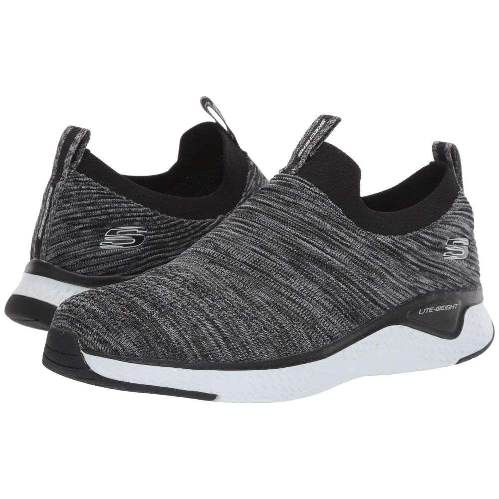 スケッチャーズ SKECHERS メンズ スニーカー シューズ・靴【Solar Fuse】Black/White