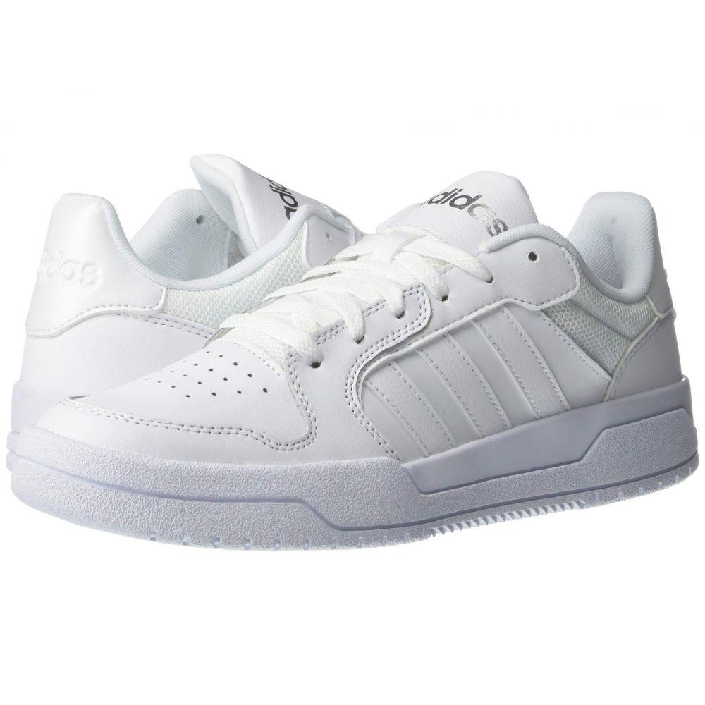 アディダス adidas レディース スニーカー シューズ・靴【Entrap】Footwear White/Footwear White/Matte Silver