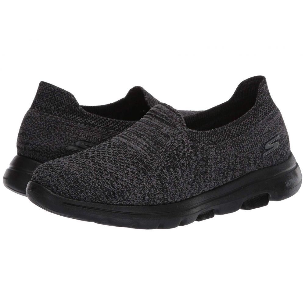 スケッチャーズ SKECHERS Performance レディース シューズ・靴 【Go Walk 5 - Favored】Black/Gray