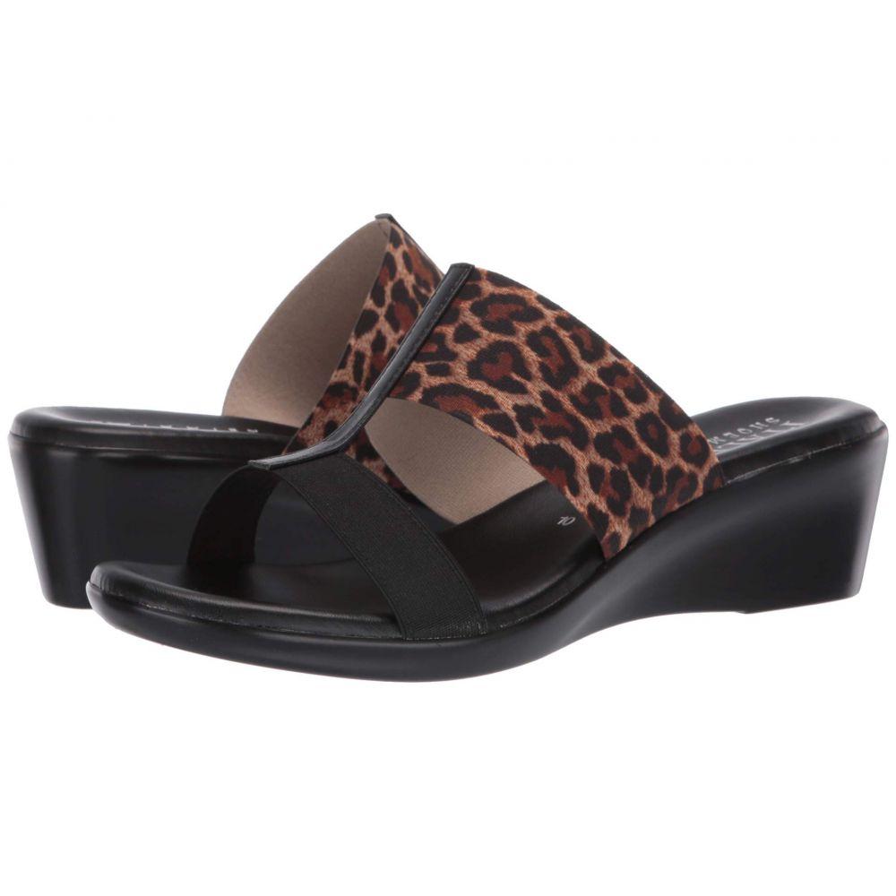 イタリアンシューメーカー Italian Shoemakers レディース サンダル・ミュール シューズ・靴【Sadey】Black/Leopard