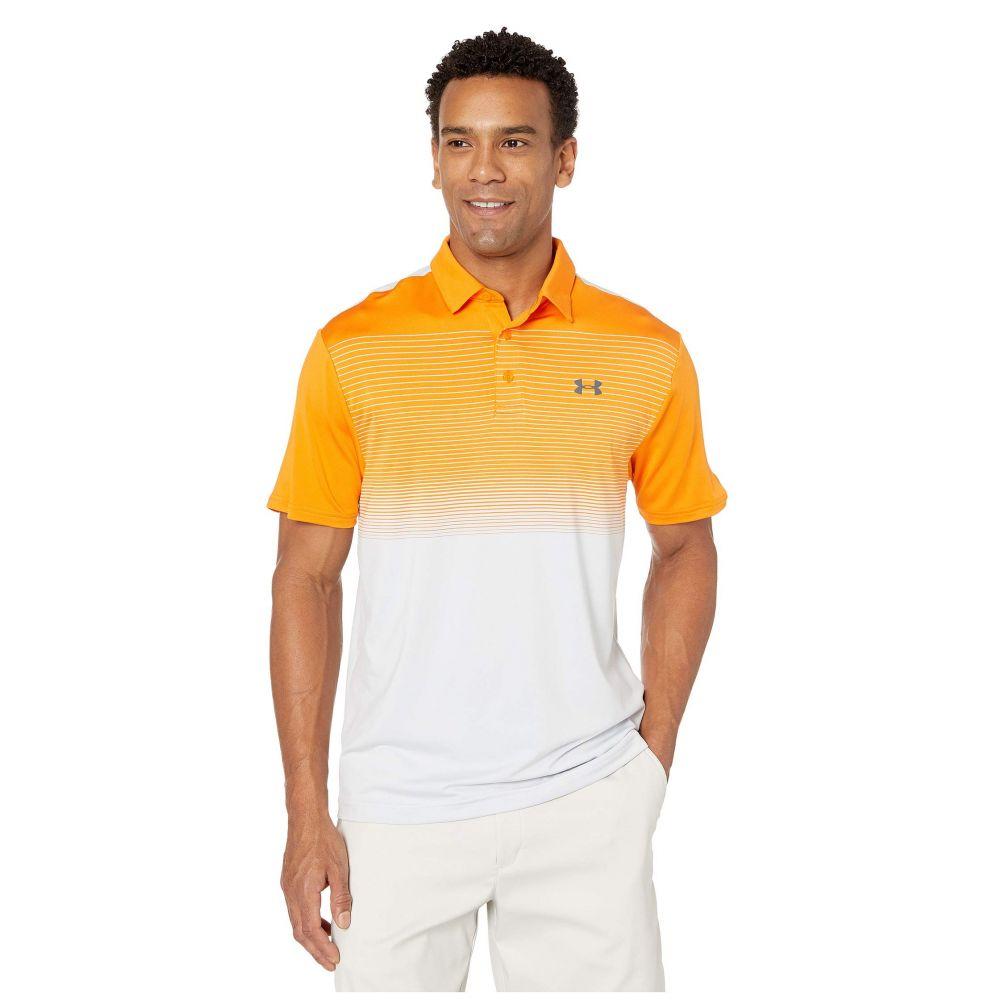 アンダーアーマー Under Armour Golf メンズ ポロシャツ トップス【Playoff Polo 2.0】Glow Orange/Pitch Gray