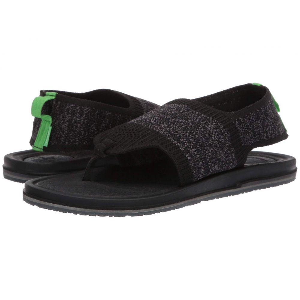 サヌーク Sanuk レディース ヨガ・ピラティス シューズ・靴【Yoga Sling 3 Knit】Black