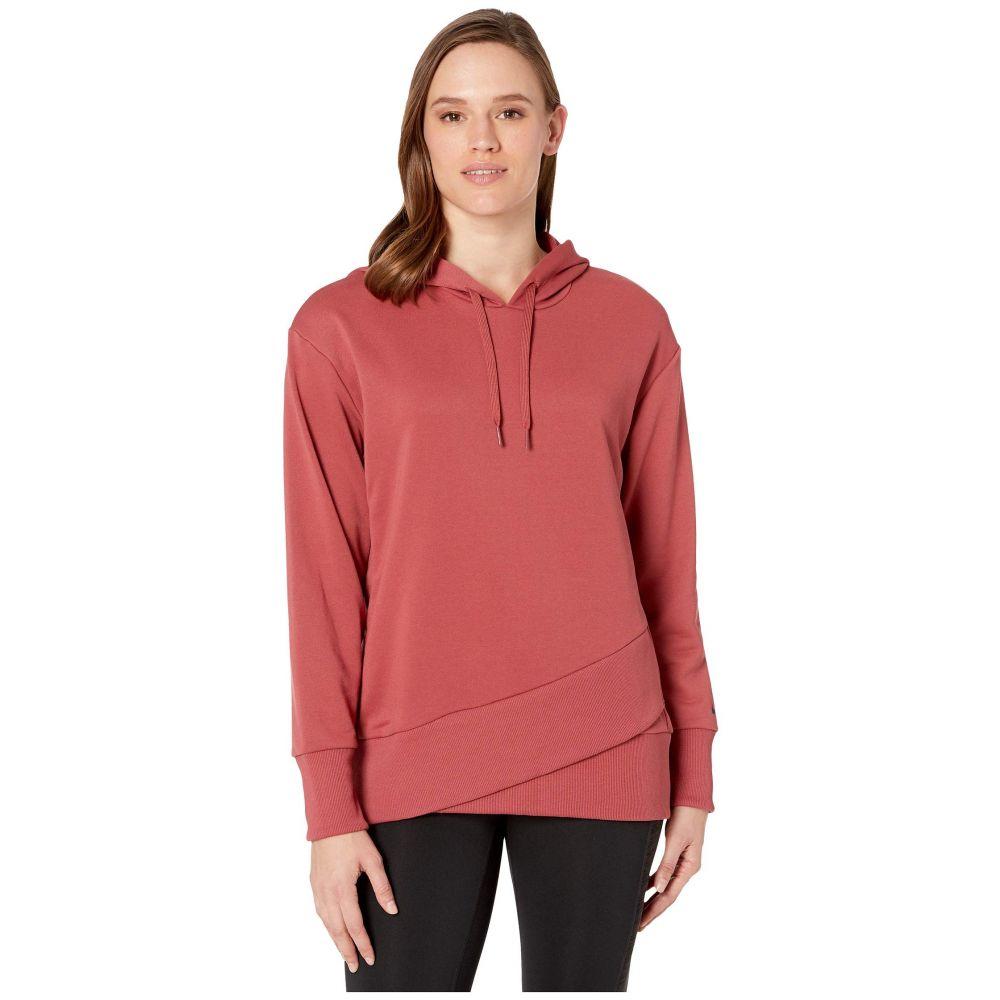 ナイキ Nike レディース フリース トップス【Dry Fleece Get Fit Hooded TP Hem】Cedar/Black