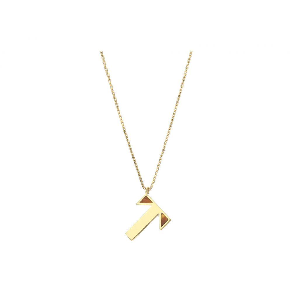 ケイト スペード Kate Spade New York レディース ネックレス ジュエリー・アクセサリー【Truly Yours T Pendant Necklace】Gold Multi