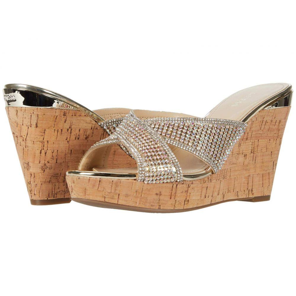 ゲス GUESS レディース サンダル・ミュール シューズ・靴【Eleonorae】Gold