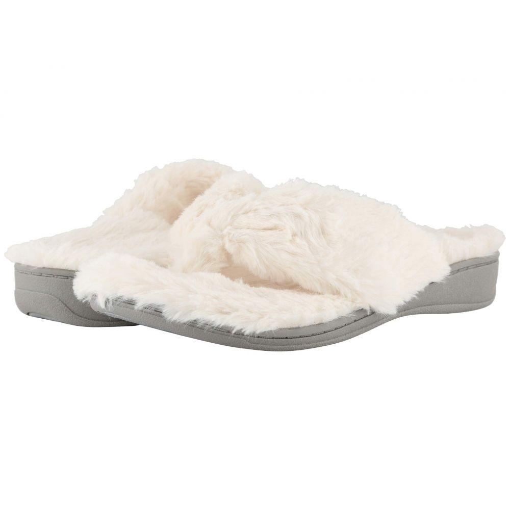 バイオニック VIONIC レディース スリッパ シューズ・靴【Gracie Plush】Ivory
