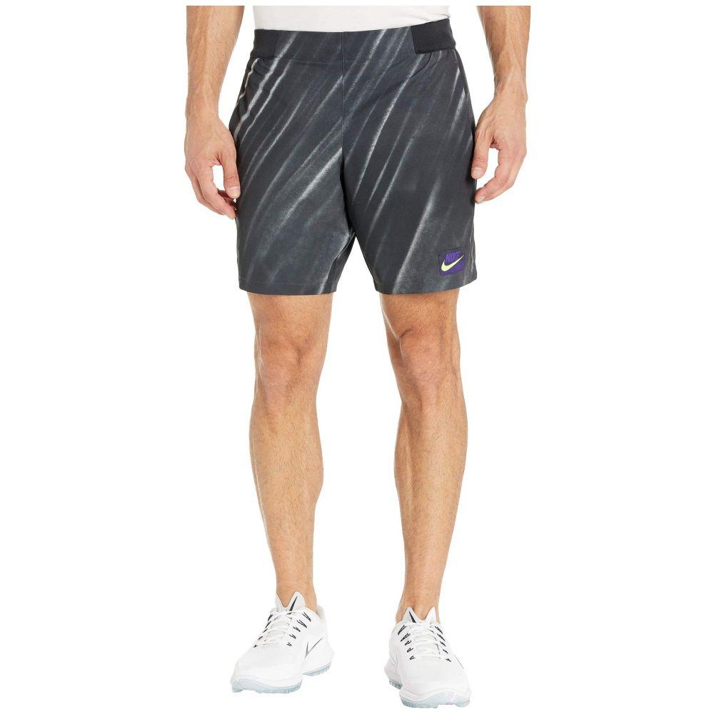 ナイキ Nike メンズ ショートパンツ ボトムス・パンツ【Court Flex Ace Shorts NY NT AOP】Off Noir/Volt