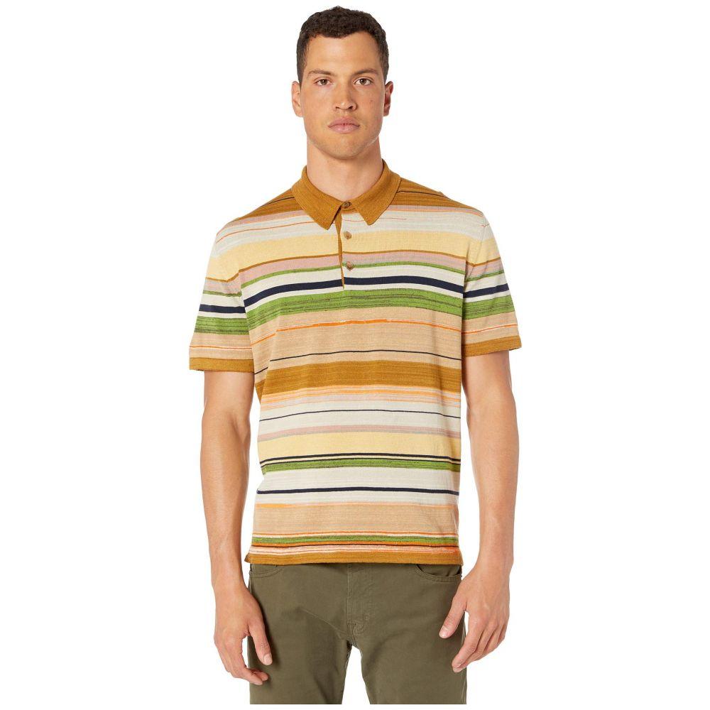 ミッソーニ Missoni メンズ ポロシャツ トップス【Striped Cotton Linen Polo Sweater】Sand Multi