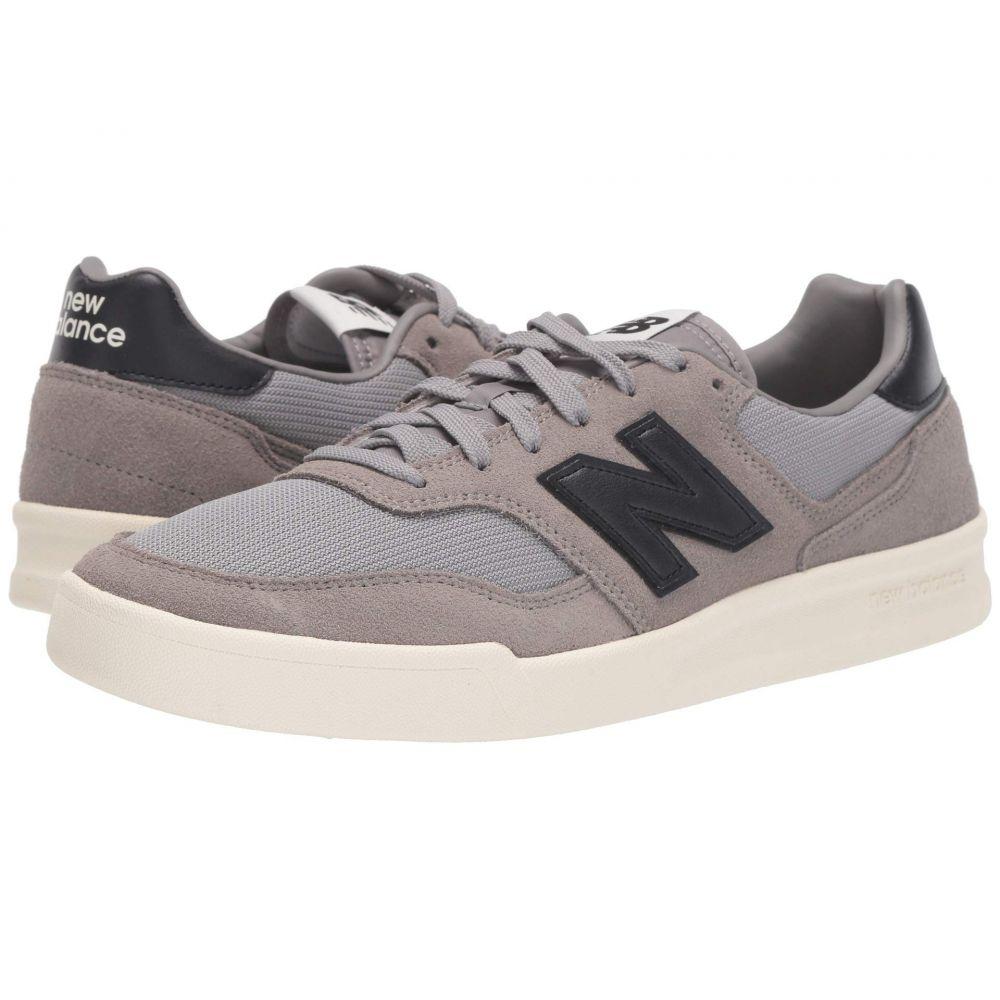ニューバランス New Balance Classics メンズ スニーカー シューズ・靴【CRT300v2】Grey/Black Suede/Mesh
