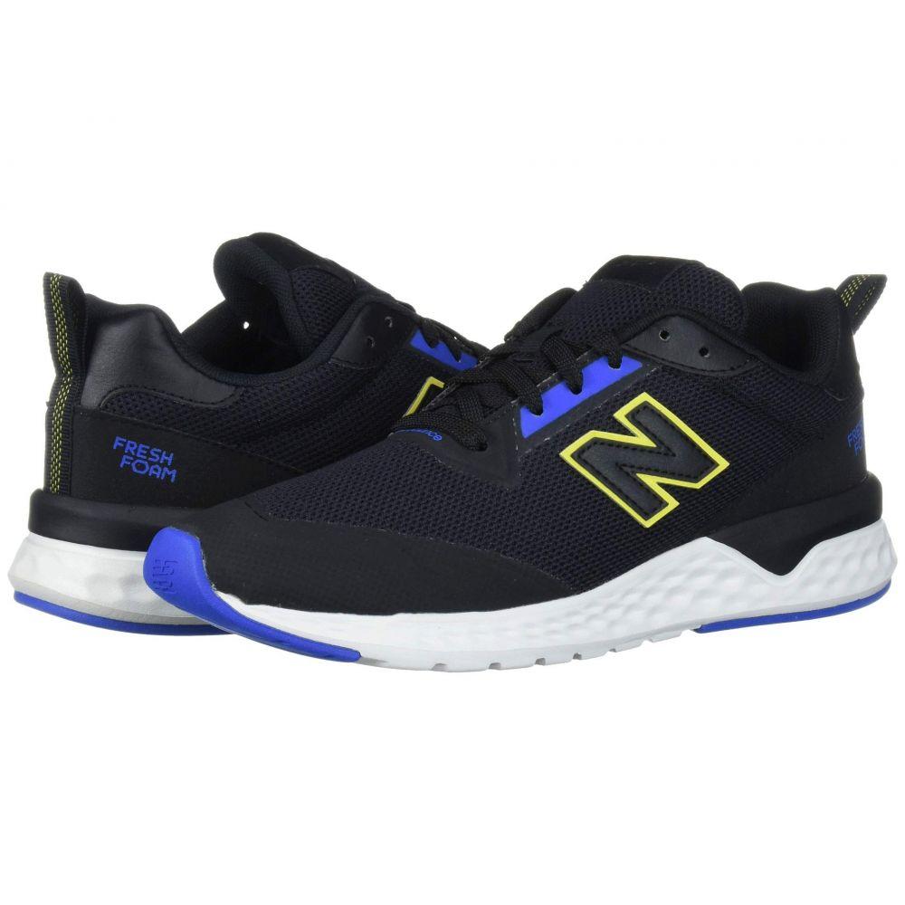 ニューバランス New Balance Classics メンズ スニーカー シューズ・靴【MS515v2】Black/Vivid Cobalt/Sulphur Yellow Synthetic/Mesh