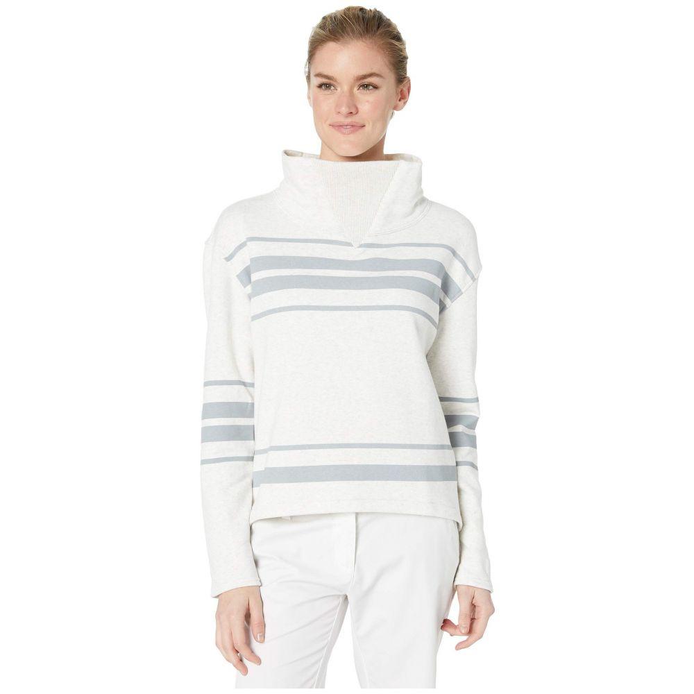 プーマ PUMA Golf レディース フリース トップス【Slouchy Fleece】Bright White Heather/Quarry