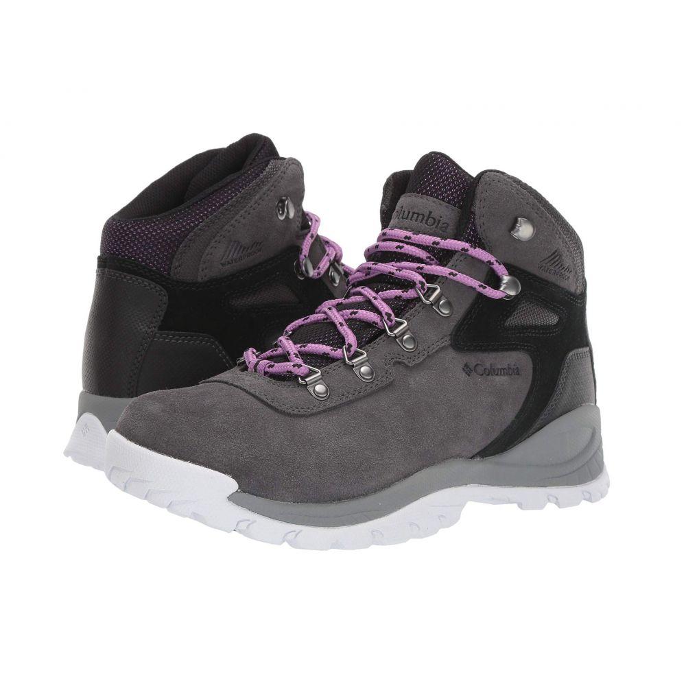 コロンビア Columbia レディース ハイキング・登山 シューズ・靴【Newton Ridge Plus Waterproof Amped】Dark Grey/Crown Jewel