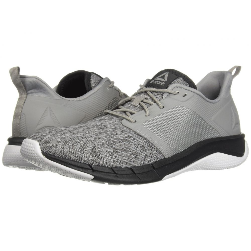リーボック Reebok メンズ ランニング・ウォーキング シューズ・靴【Print Run 3.0】Tin Grey/Foggy Grey/Coal/White