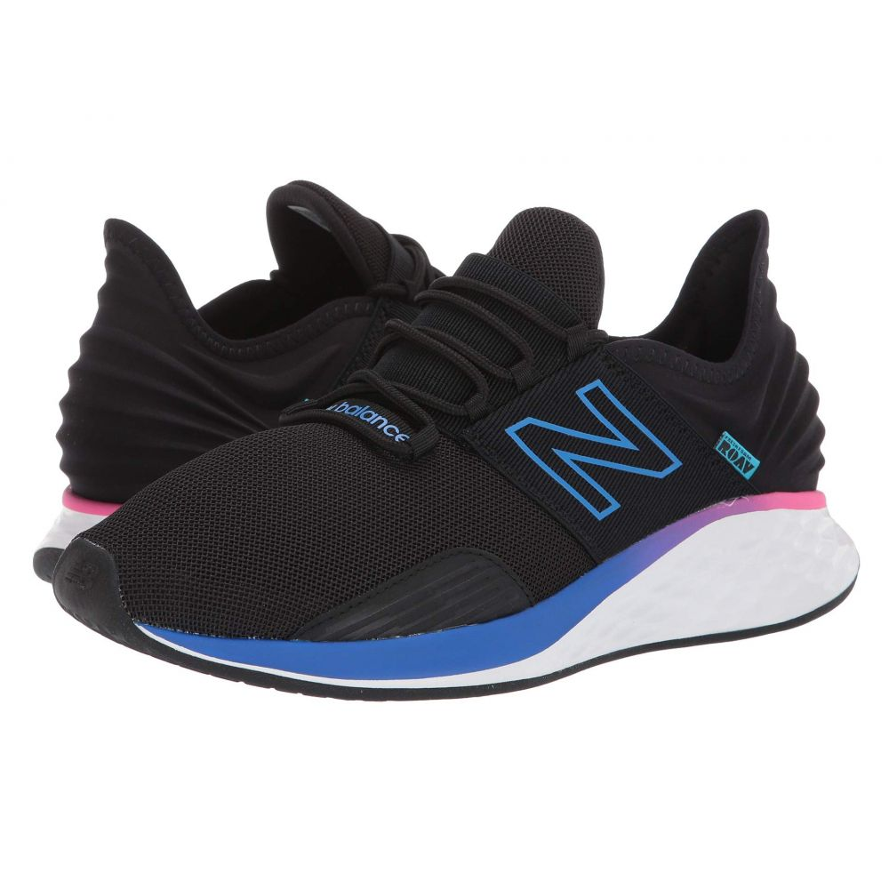 ニューバランス New Balance メンズ ランニング・ウォーキング シューズ・靴【Fresh Foam Roav Boundaries】Black/Vivid Cobalt