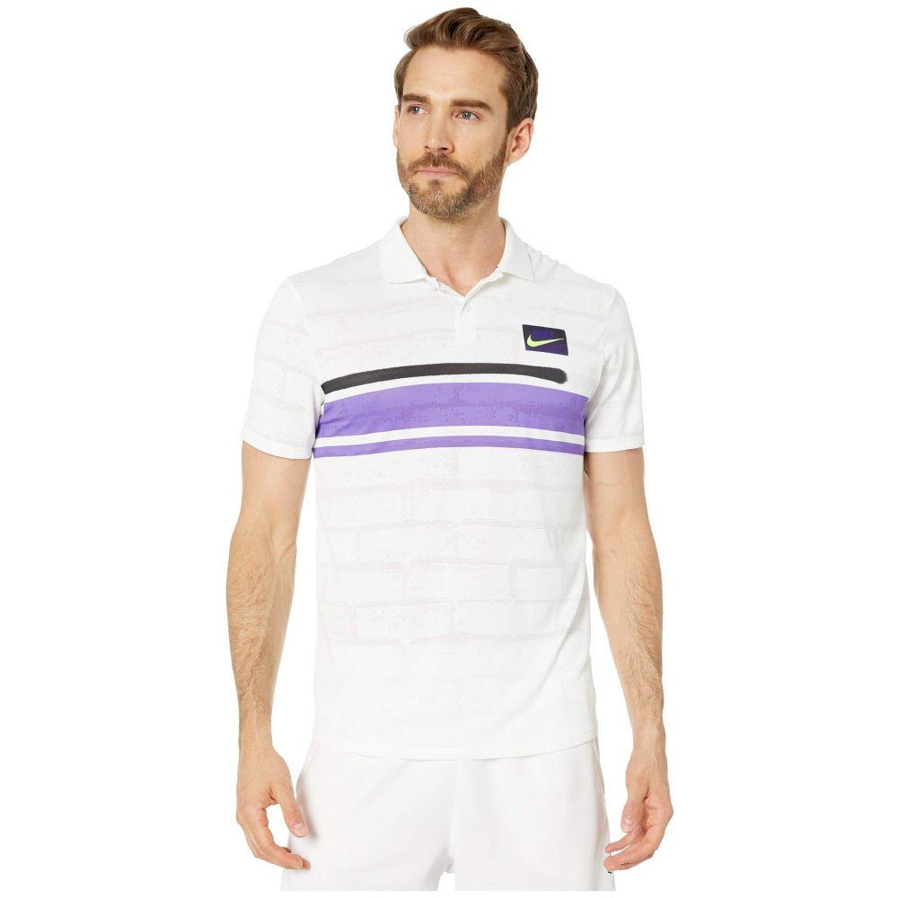 ナイキ Nike メンズ ポロシャツ トップス【Court ADV Polo NY NT】White/White