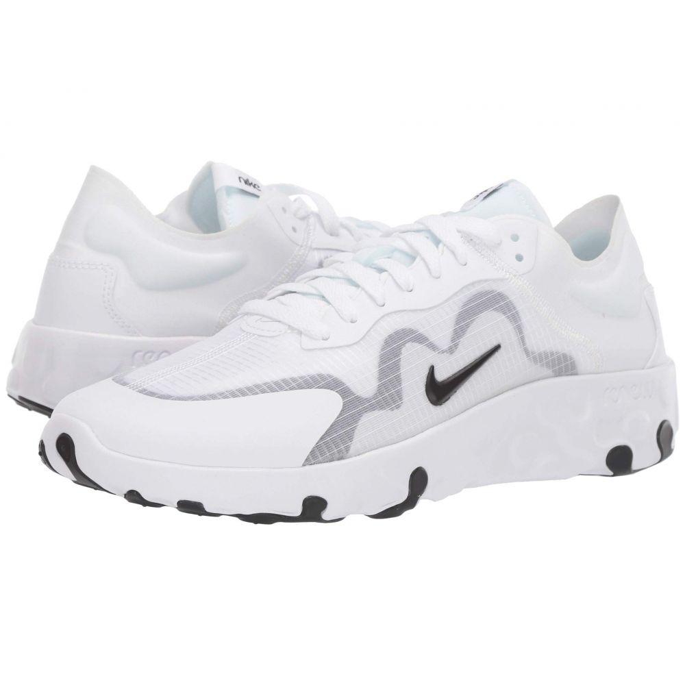 ナイキ Nike メンズ スニーカー シューズ・靴【Renew Lucent】White/Black