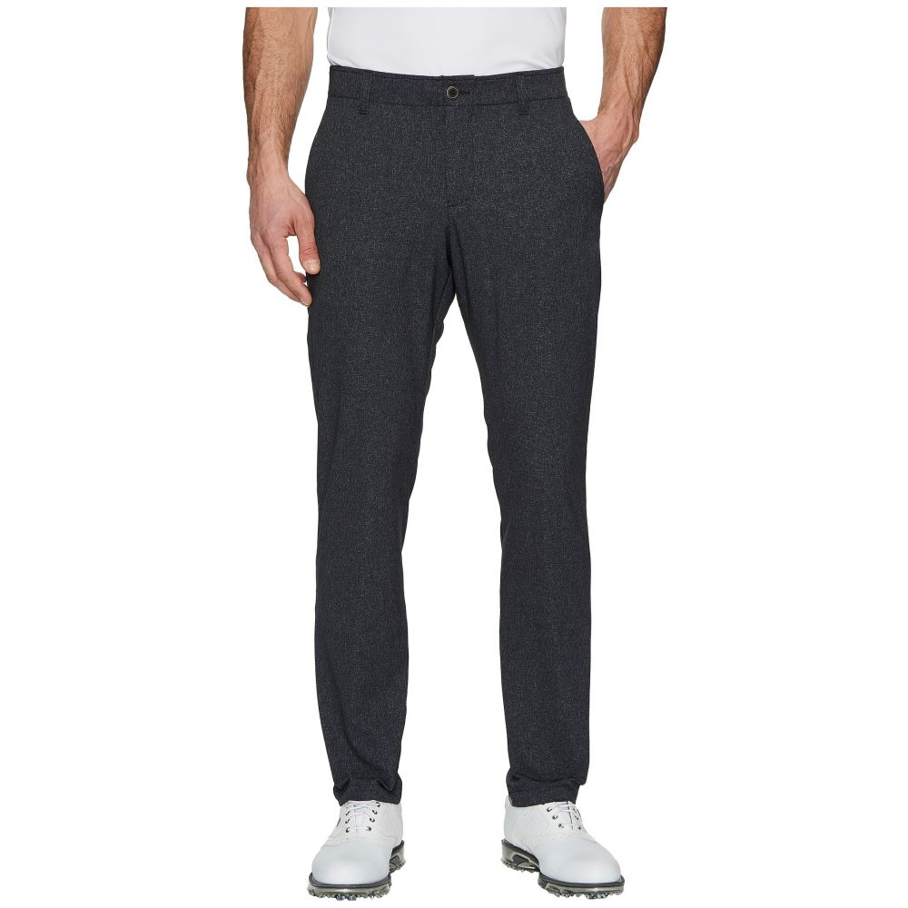 アンダーアーマー Under Armour Golf メンズ ボトムス・パンツ テーパードパンツ【UA Showdown Vented Tapered Pants】Black/Zinc Gray/Black