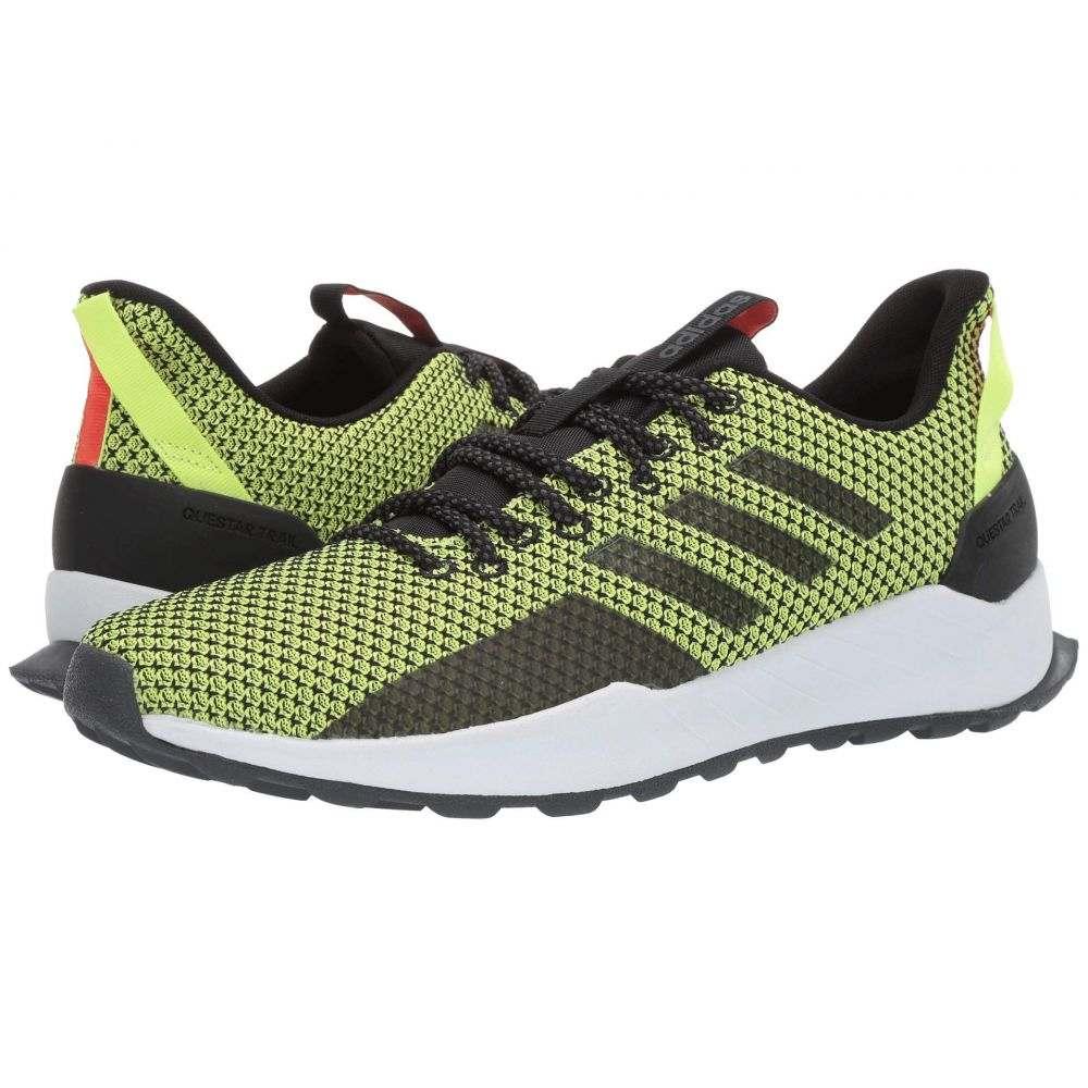 アディダス adidas Running メンズ ランニング・ウォーキング シューズ・靴【Questar Trail】Core Black/Core Black/Hi-Res Yellow