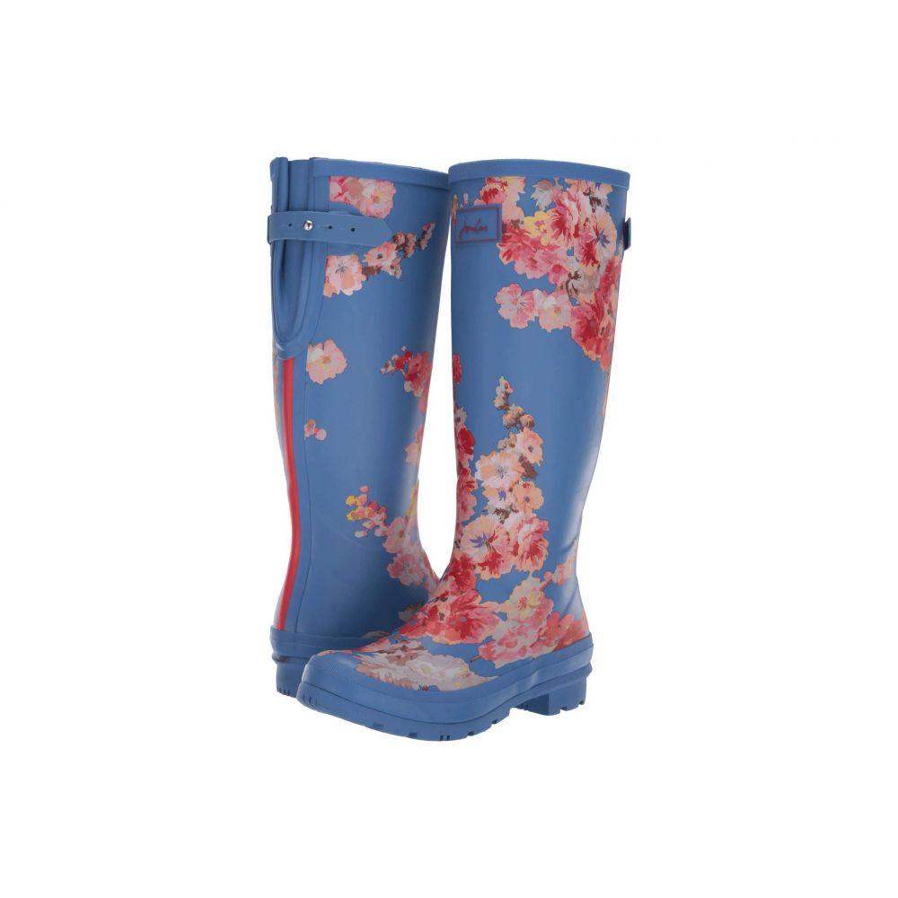 ジュールズ レディース シューズ・靴 レインシューズ・長靴 Blue Floral 【サイズ交換無料】 ジュールズ Joules レディース レインシューズ・長靴 シューズ・靴【Welly Print】Blue Floral