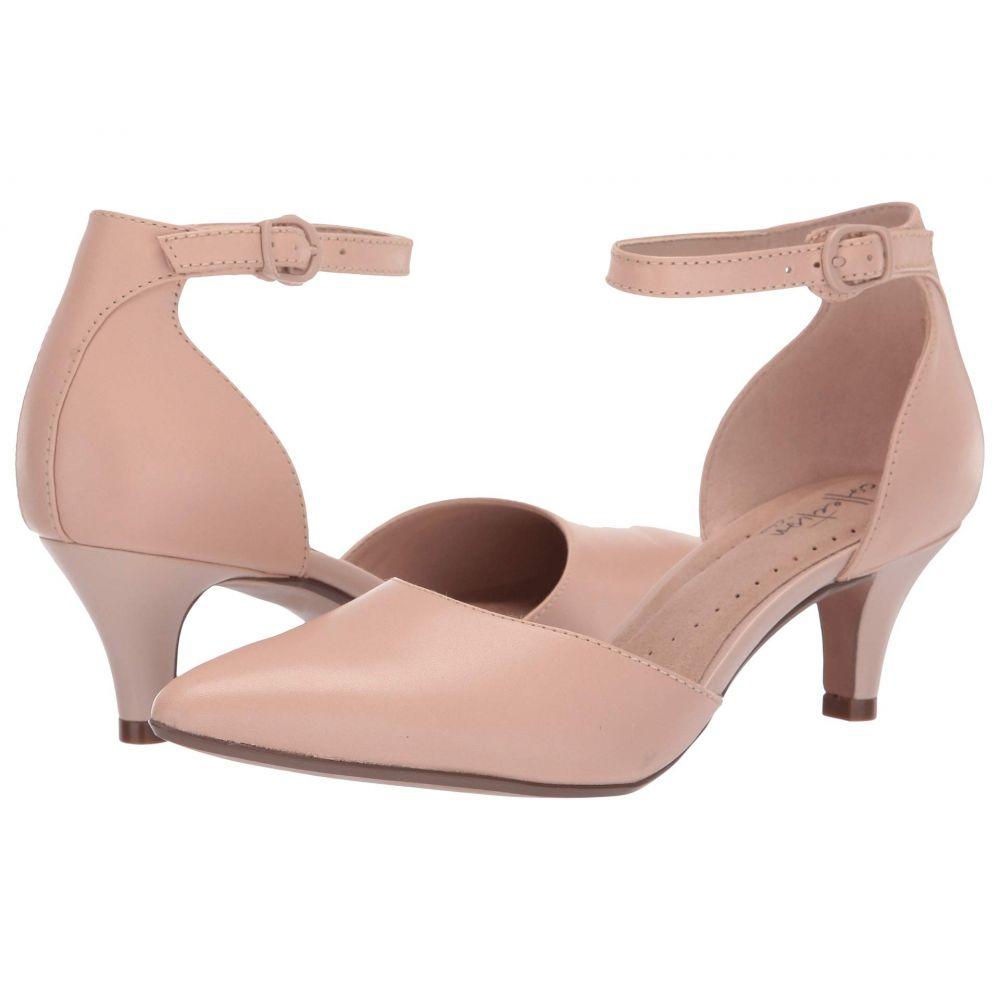 クラークス Clarks レディース パンプス シューズ・靴【Linvale Edyth】Nude Leather