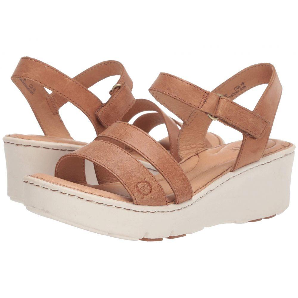 ボーン Born レディース サンダル・ミュール シューズ・靴【Pawnee】Brown Full Grain Leather