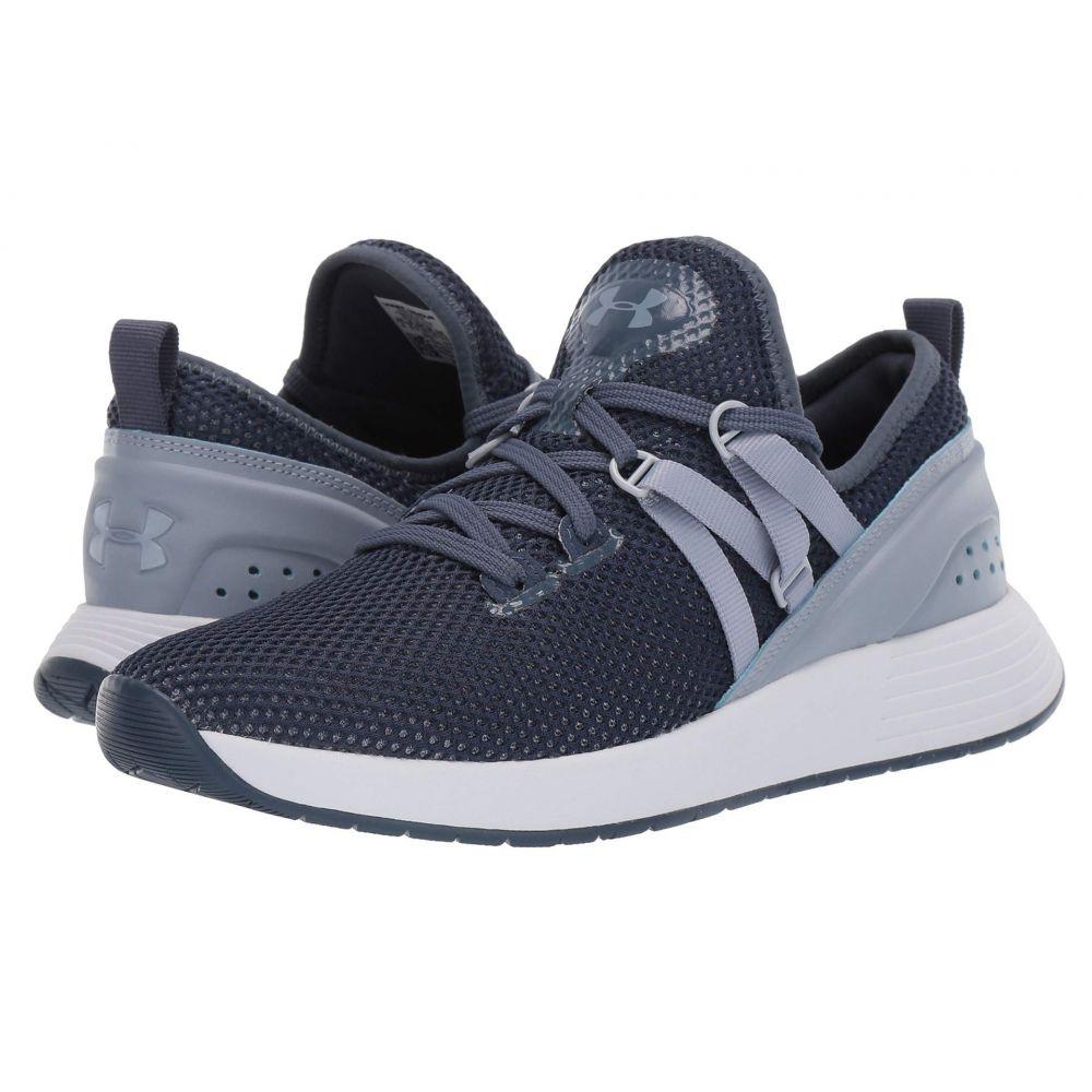 アンダーアーマー Under Armour レディース フィットネス・トレーニング スニーカー シューズ・靴【Breathe Trainer X NM】Downpour Gray/White/Blue Heights