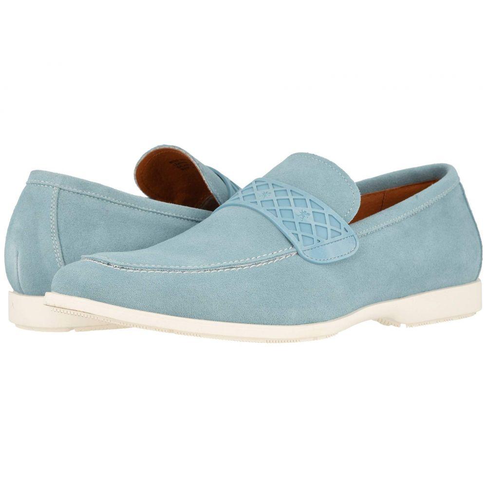 ステイシー アダムス Stacy Adams メンズ ローファー シューズ・靴【Crispin】Chalk Blue