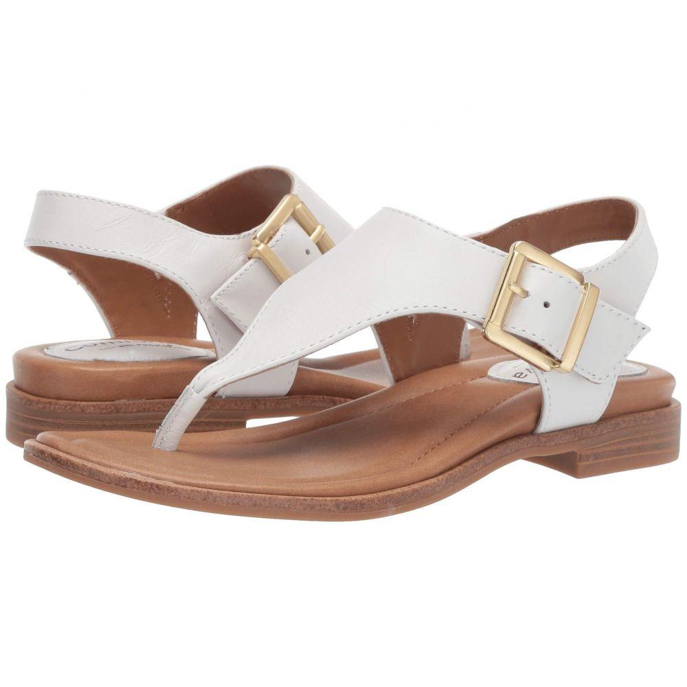 コンフォーティヴァ Comfortiva レディース サンダル・ミュール シューズ・靴【Dafney】White M-Vege