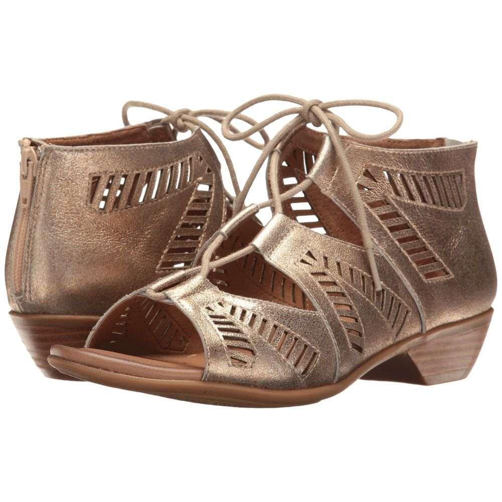 コンフォーティヴァ Comfortiva レディース サンダル・ミュール シューズ・靴【Riley】Gold Calgary