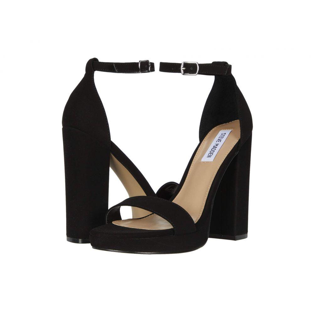 スティーブ マデン Steve Madden レディース サンダル・ミュール シューズ・靴【Entourage Heeled Sandal】Black