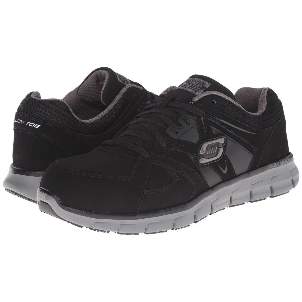 スケッチャーズ SKECHERS Work メンズ シューズ・靴 【Synergy Ekron】Black Grey