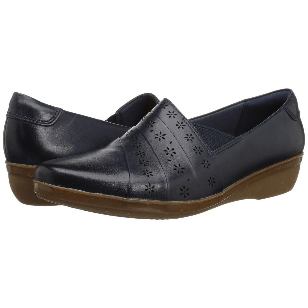 クラークス Clarks レディース ローファー・オックスフォード シューズ・靴【Everlay Uma】Navy